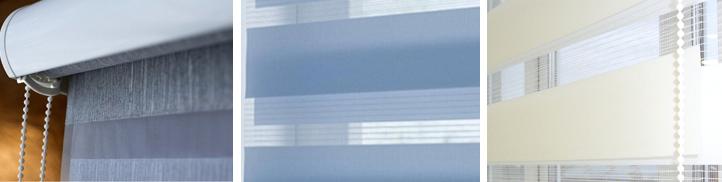рулонные шторы день ночь