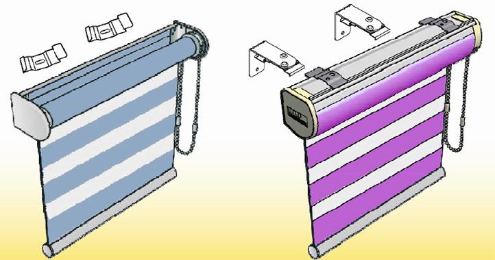 рулонные шторы с управлением